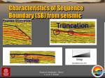 characteristics of sequence boundary sb from seismic1