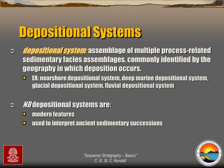 Depositional Systems
