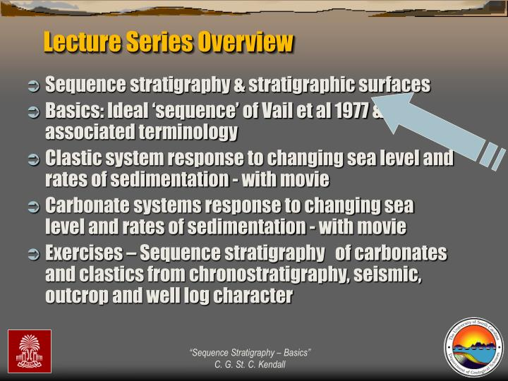 Lecture Series Overview