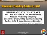 maximum flooding surface mfs1