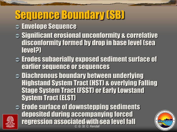 Sequence Boundary (SB)