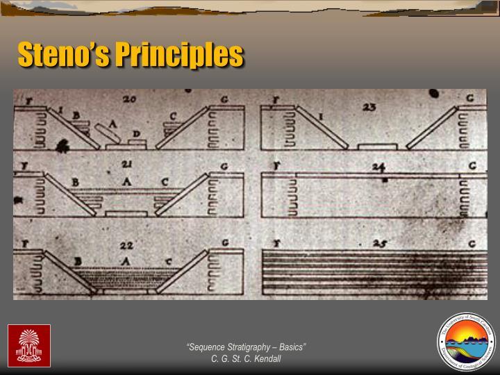 Steno's Principles