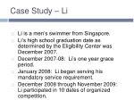 case study li