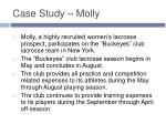 case study molly