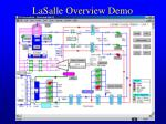 lasalle overview demo