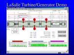 lasalle turbine generator demo