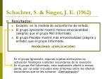 schachter s singer j e 196227