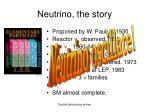 neutrino the story