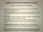 sugerencias de aprendizaje sensorial2
