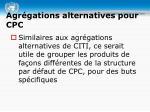 agr gations alternatives pour cpc1