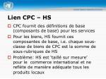 lien cpc hs