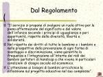 dal regolamento1