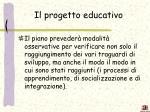 il progetto educativo1