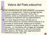 valore del piano educativo1