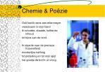 chemie po zie