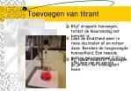 toevoegen van titrant1