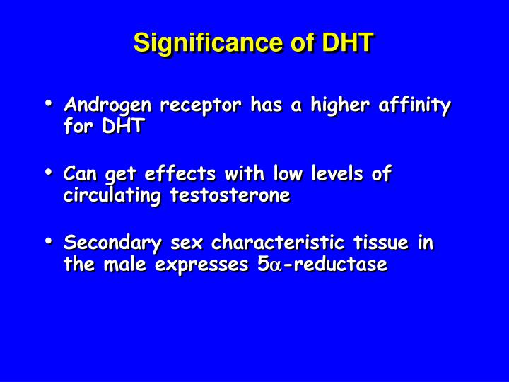 significance of dht n.