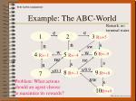 example the abc world