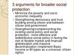 3 arguments for broader social protection
