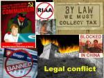 legal conflict