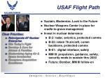 usaf flight path