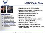 usaf flight path3