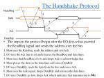 the handshake protocol