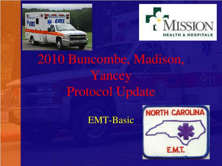 2010 buncombe madison yancey protocol update n.