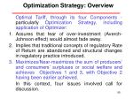 optimization strategy overview