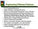 engineering pathway features