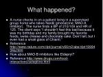 what happened4