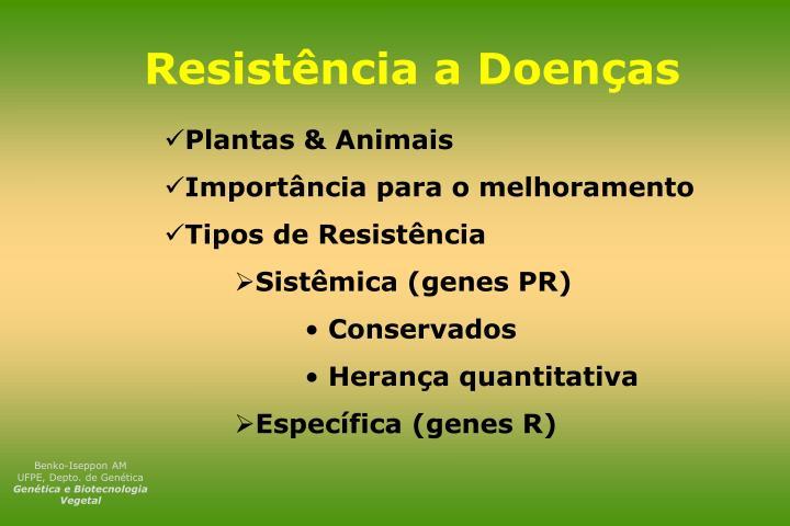 Resistência a Doenças