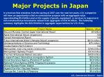 major projects in japan