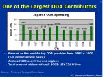 one of the largest oda contributors