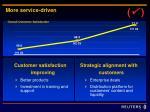 more service driven