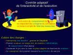 contr le adaptatif de l interactivit et de l ex cution