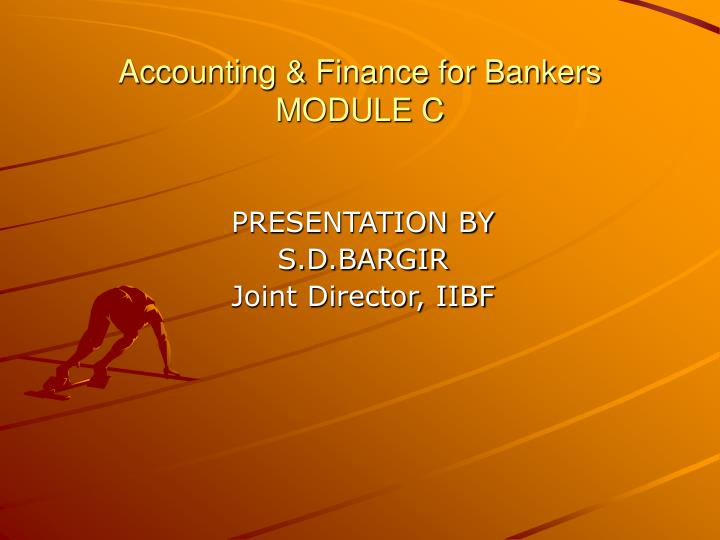 accounting finance for bankers module c n.