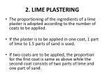 2 lime plastering