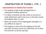 construction of floors ctd1