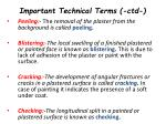 important technical terms ctd1