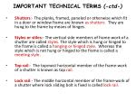 important technical terms ctd4