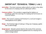 important technical terms ctd9