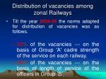 distribution of vacancies among zonal railways2