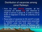 distribution of vacancies among zonal railways3