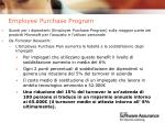 employee purchase program