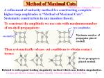 method of maximal cuts