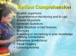 review comprehension