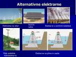 alternativne elektrarne