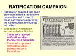 ratification campaign
