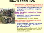 shay s rebellion